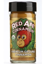 Red Ape Cinnamon, shaker jar