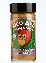 Red Ape Vanilla Cinnamon, shaker jar