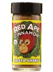 Red Ape Cinnamon, shaker jar