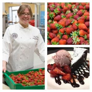 Chef Rebecca at King Estate