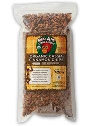 Organic cassia cinnamon chips