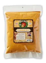 Organic ground turmeric one pound bag