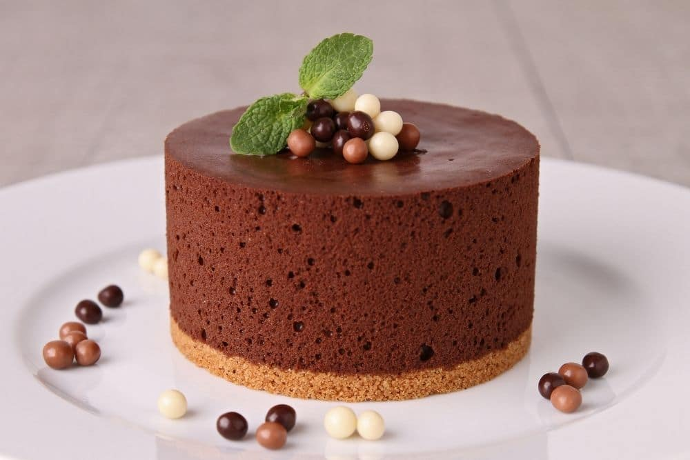 Chocolate Mousse Cous Cake