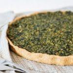 spinach tofu curry pie