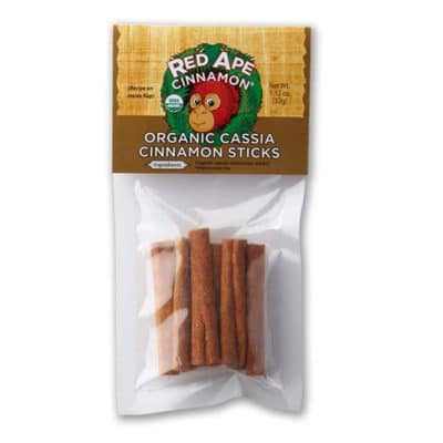 Cinnamon stick package