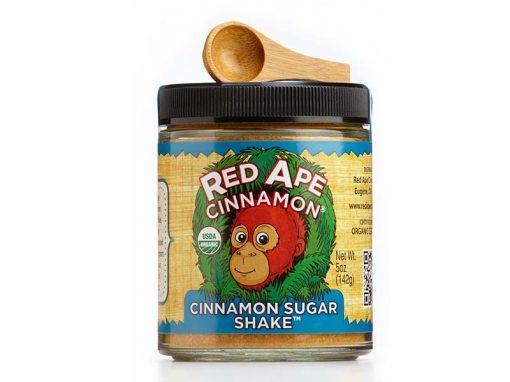Cinnamon sugar wide mouth jar