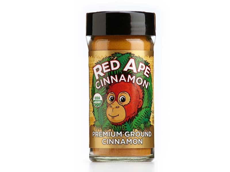 Organic cinnamon shaker top