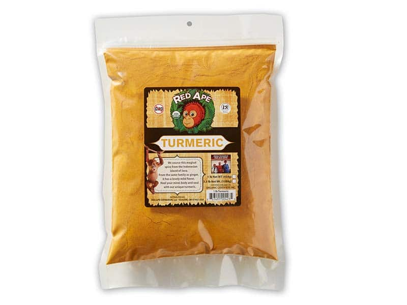 Turmeric bag