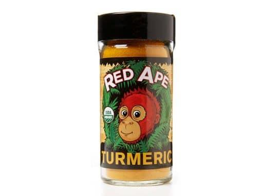 Turmeric shaker jar