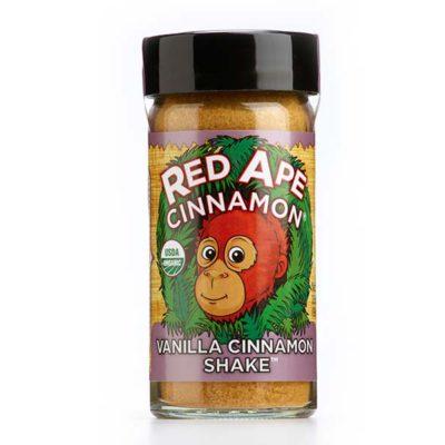 Vanilla cinnamon sugar shaker jar