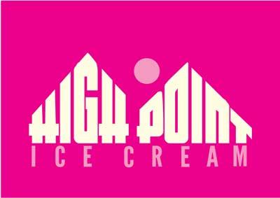 High Point Ice Cream Logo