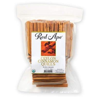 Organic Ceylon cinnamon quills