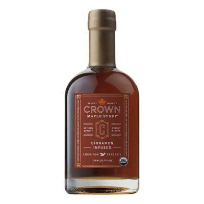 Crown Maple Cinnamon Syrup Bottle 375ml